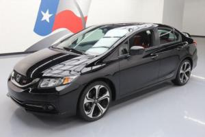 2015 Honda Civic SI SEDAN 6-SPEED SUNROOF REAR CAM