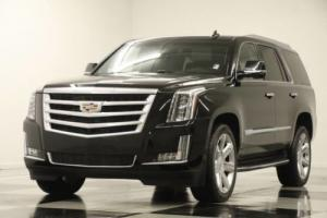 2016 Cadillac Escalade 4X4 Luxury DVD Sunroof GPS Black Raven 4WD