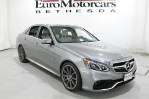 2015 Mercedes-Benz E-Class 4dr Sedan E63 AMG S-Model 4MATIC