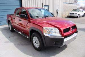 2006 Mitsubishi Raider Duro Cross Double Cab 4 Door 3.7L V6 Automatic Truck