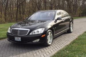 2007 Mercedes-Benz S-Class S600 Twin Turbo V-12