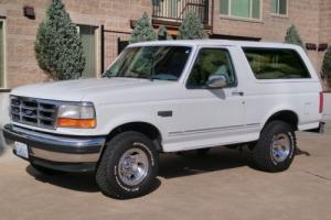 1994 Ford Bronco FORD OJ SIMPSON WHITE BRONCO 4X4