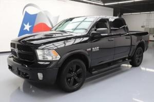 2015 Dodge Ram 1500 OUTDOORSMAN CREW 4X4 HEMI 20'S