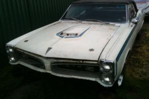 1966 PONTIAC GTO CONVERTIBLE AKA (TIGER) AMERICAN MUSCLE CAR