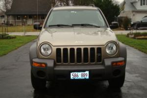 2003 Jeep Liberty AUTOMATIC TRANSMISSION 4X4 SPORT