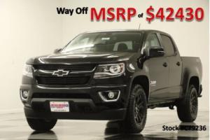 2017 Chevrolet Colorado MSRP$42430 4WD Z71 GPS Midnight Crew 4X4