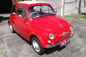 Fiat 500 1960 Model Nuovo not Alfa, BMW, Peugeot, Mercedes,Nissan,Holden or Ford