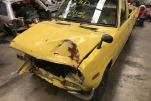 DATSUN 1200 UTE DAMAGED PROJECT SUIT PARTS RACE DRAG BURNOUT CAR SR20 CA18 13B Photo