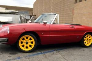 1967 Alfa Romeo Spider Duetto Photo