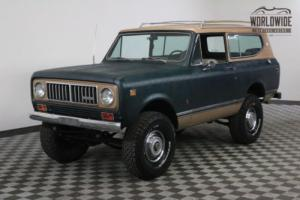 1974 International Harvester Scout RESTORED RARE 4X4 CONVERTIBLE AUTO PS PB