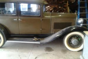 1929 Other Makes Hupmobile 4 door sedan