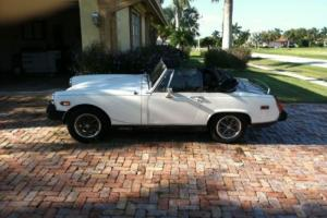 1979 MG Midget Bolt on hard top