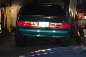 1993 Ford Mustang Notch back
