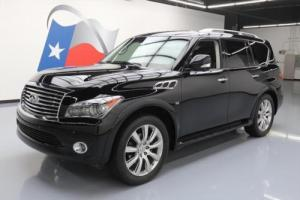 2014 Infiniti QX80 THEATER SUNROOF NAV DVD 22'S