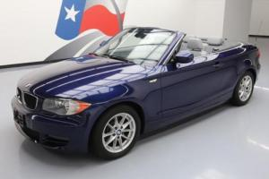 2010 BMW 1-Series 128I CONVERTIBLE SOFT TOP AUTO BLUETOOTH