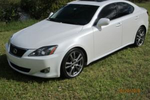 2008 Lexus IS LEATHER SUNROOF PADDLE SHIFT