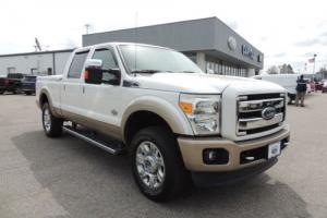 "2013 Ford F-250 4WD Crew Cab 156"" King Ranch"