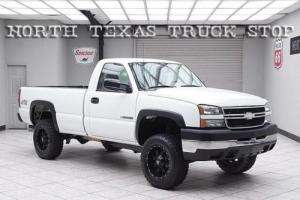 2006 Chevrolet Silverado 2500 Vortec 6.0L Regular Cab Long Bed 1 TEXAS OWNER