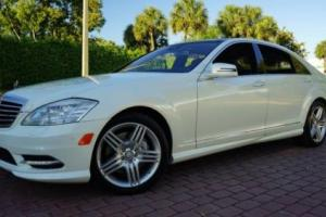 2013 Mercedes-Benz S-Class S550 AMG SPORT PANO ROOF NAV BACKUP CAM!