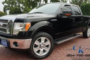 2011 Ford F-150 Lariat 4x4 Sunroof Clean Carfax Like New!!