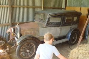 1926 Willys Overland Whippet Barn Find