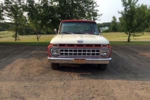 1965 Ford F-100 Camper special for Sale