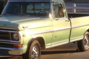 1972 Ford F-100 for Sale