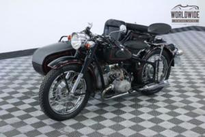 1973 BMW BIKE CHANG JIANG RECREATION SIDE CAR