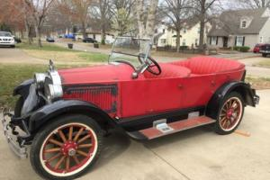 1924 Willys Knight Model 64 Four Door Touring Convertible