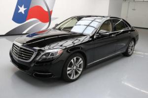2015 Mercedes-Benz S-Class S550 PANO SUNROOF NAV REAR CAM