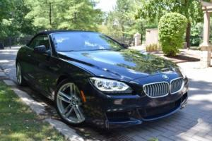 2012 BMW 6-Series CONVERTIBLE M-PACKAGE Bang & OLUFSEN 20'' WHEELS BROWN LEATHERS