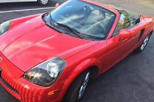 2001 Toyota MR2 fuel injected