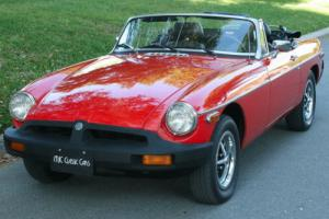 1977 MG MGB CONVERTIBLE - REFRESHED - 73K MI