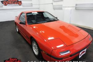 1986 Mazda RX-7 Runs Drives Body Inter 1.3L Rotary 5 spd man