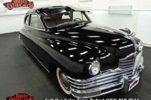 1948 Packard 8 Deluxe Club Sedan Body Inter VGood 288I8 3spd man