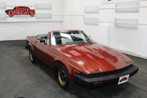 1980 Triumph TR7 2 Liter Inline 4 5 speed man Body Inter Good