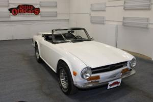 1973 Triumph TR-6 Runs Drives Body Int Vgood 2.5L I6 4 spd manual