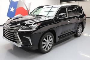 2016 Lexus LX 4X4 LUXURY SUNROOF NAV DVD HUD 21'S