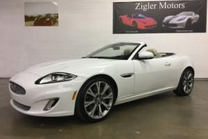 2013 Jaguar XK Convertible One owner with remainder of Factory Warranty