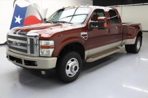 2008 Ford F-350 KING RANCH CREW DIESEL DRW 4X4