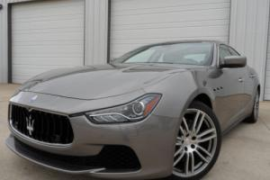 2014 Maserati Ghibli S Q4 ALL WHEEL DRIVE 410 HORSEPOWER