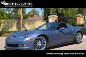2011 Chevrolet Corvette 2dr Coupe ZR1 W3ZR W/Navigation