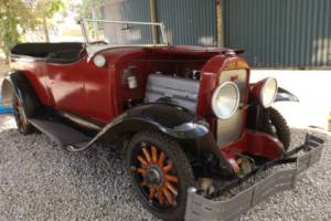 1929 Buick Tourer 116 silver series, in need of total restoration, will run.