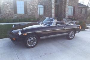 1980 MG MGB MGB-LTD