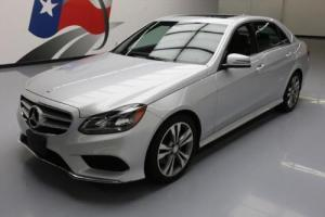 2015 Mercedes-Benz E-Class E350 SPORT SEDAN P1 SUNROOF NAV
