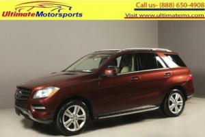 2013 Mercedes-Benz M-Class 2013 ML350 NAV SUNROOF LEATHER BLIND LANE