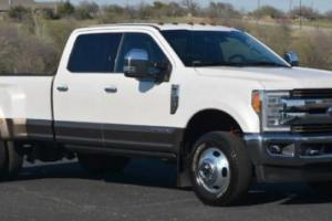 2017 Ford F-350 King Ranch Crew Cab Dually 4x4