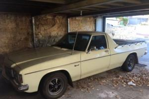 1978 HZ UTE ORIGINAL 308 V8 M21 4-speed KINGSWOOD with books - not HQ HJ HX WB