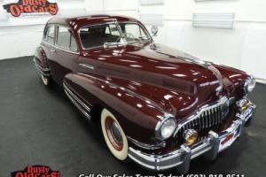 1942 Buick Roadmaster Runs Drives Body Inter Vgood 320I8 3 spd man