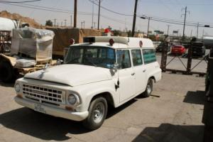 1964 International Harvester Travelall Ambulance Travelall